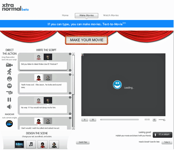 extranormal   Xtranormal: Cool Online Flash Movie Maker