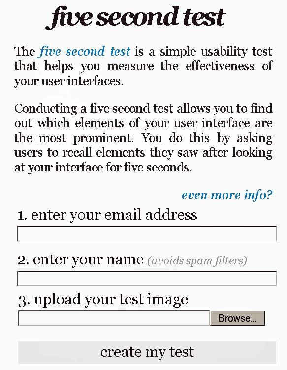 website usability test