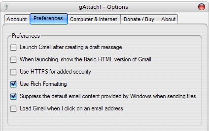 Make Gmail your Default Desktop Email Client (Windows) gattach02