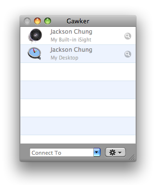 Do More With Your Webcam Using Gawker & Eyesight [Mac Only] gawker options 2