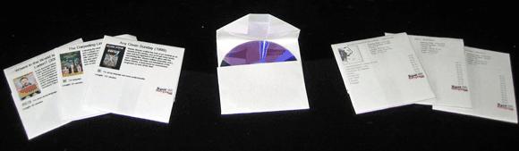 paper case - paper cd sleeve printing