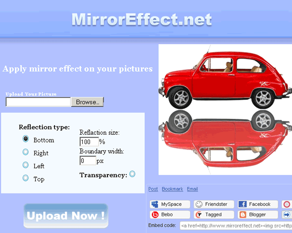 mirroreffect   MirrorEffect: Photo Mirror Effect Generator