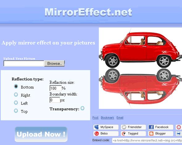 mirroreffect - photo mirror effec