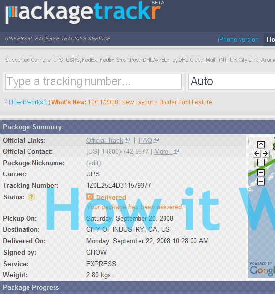 packagetrackr1   PackageTrackr: Track Packages From The Web & iPhone