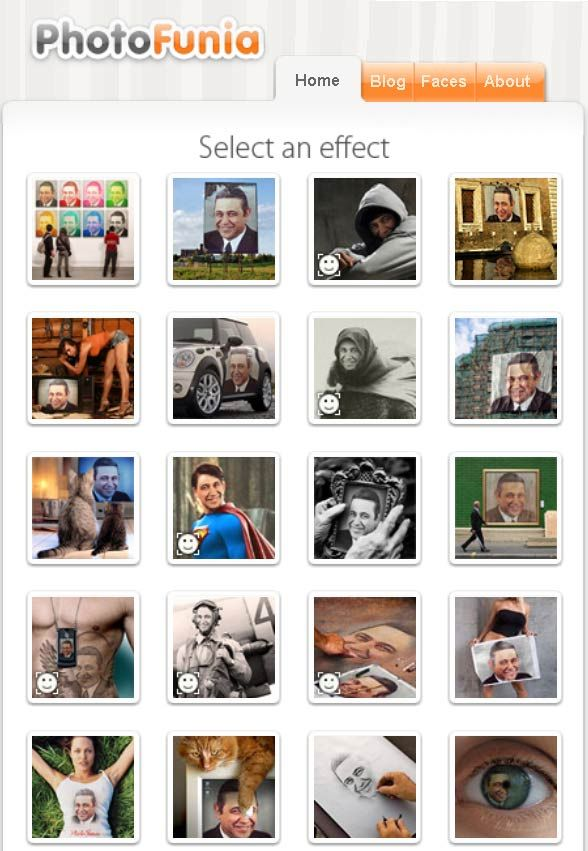 photofunia1   PhotoFunia: Add Cool Effects to Photos Online