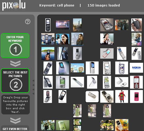 pixolu2   Pixolu: Search for Similar Images Using an Image