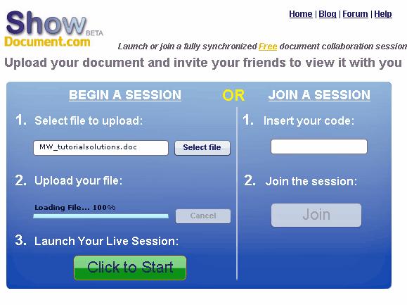 live document collaboration online