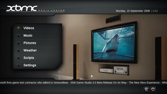 xbmc linux - media center for ubuntu