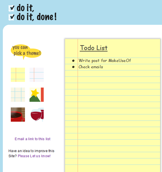 doitdoitdone   Doitdoitdone: A Quick And Easy To do List