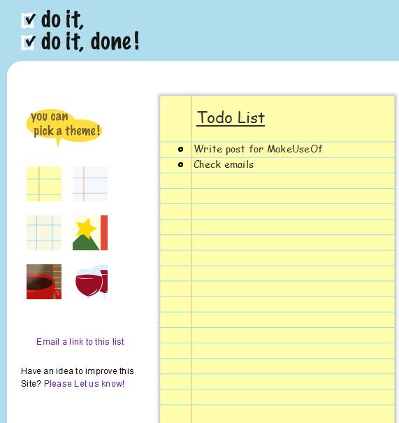doitdoitdone   Doitdoitdone: A Quick And Easy To do List