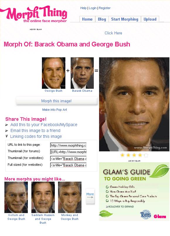 morphthing   MorphThing: Morph Faces Online