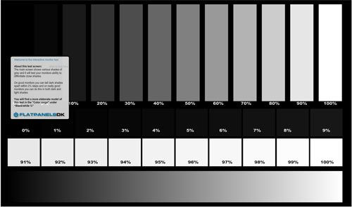 online monitor test1   Monitor Test: Color Test For Your LCD Monitor & TV Display