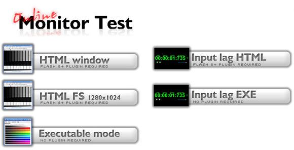online monitor test3   Monitor Test: Color Test For Your LCD Monitor & TV Display