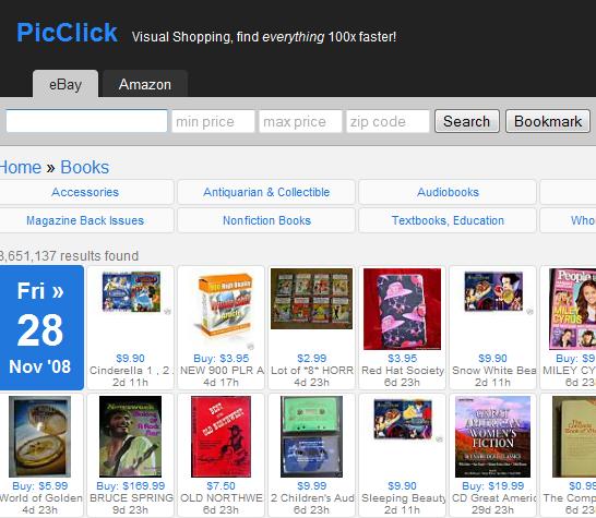 PicClick: Visual Search Engine For eBay And Amazon
