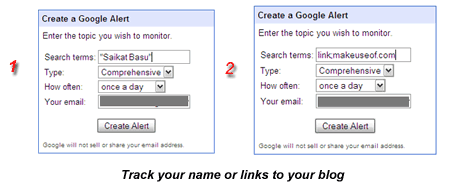 10 Uses of Google Alerts For A Freelancer trackname