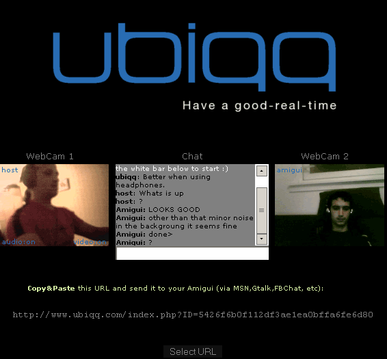 Uniqq: Video Chat in Your Browser