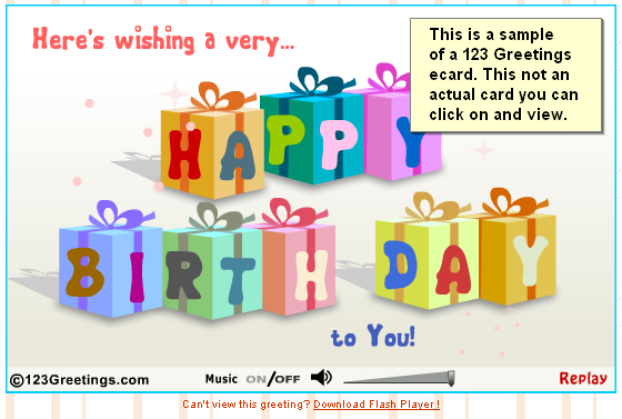 Generate income with a free e greeting card website 123 greetings flash card bookmarktalkfo Choice Image