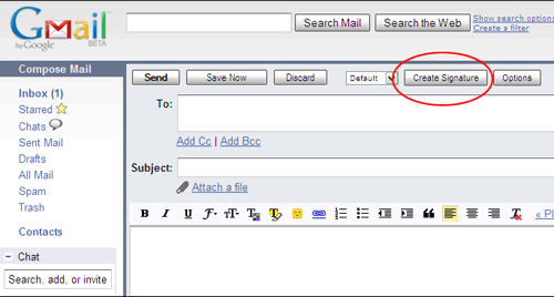 5 Ways To Create Custom Multiple Signatures In GMail 1 blackcanvas create