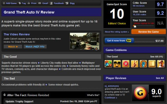 The Best Sites for Game Previews and Reviews 24 12 2008 16 48 23