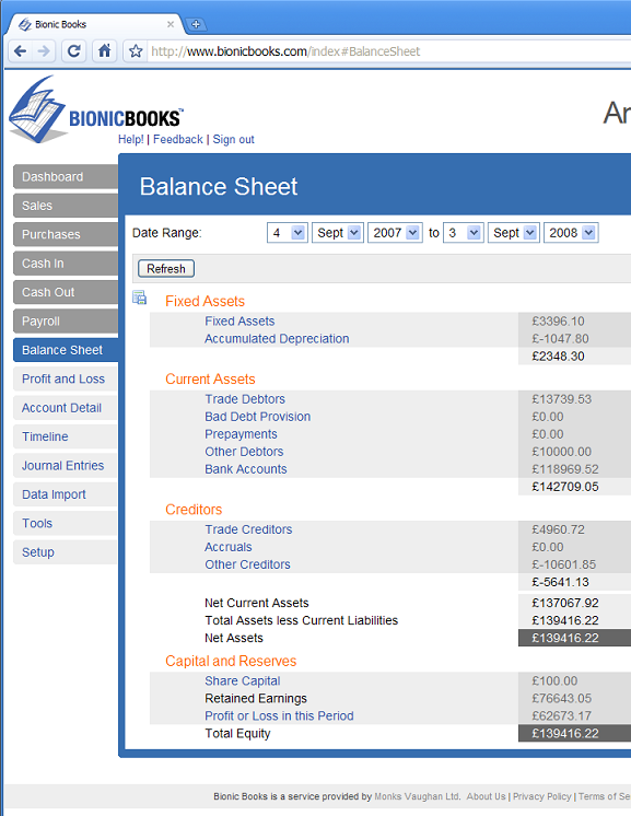 free online accounting tool