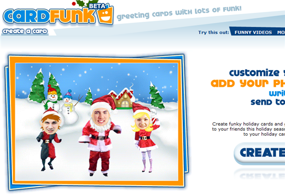 cardfunk1   CardFunk: Funky Holiday Card Maker