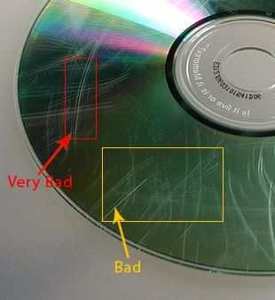 repair scratched cd