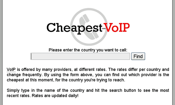 cheapest calling rates