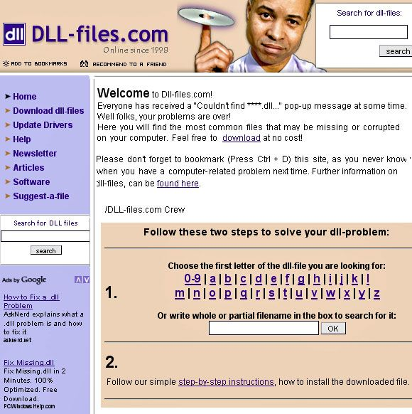 missing dll files free download