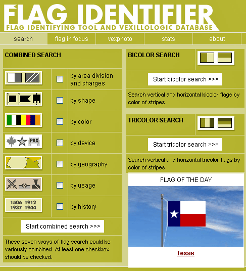 identifying flags