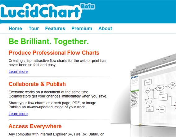 lucidchart11   LucidChart: Online Flowchart Maker