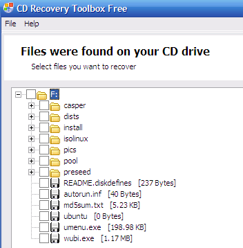 recoverytoolbox - recover data from cd dvd