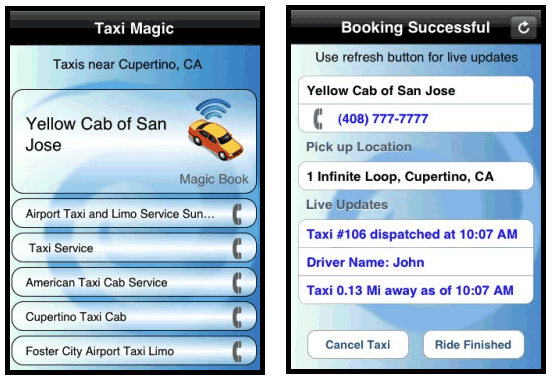 hire a taxi