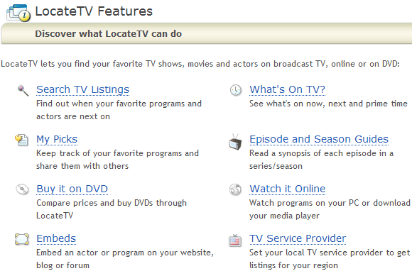search tv episode guides