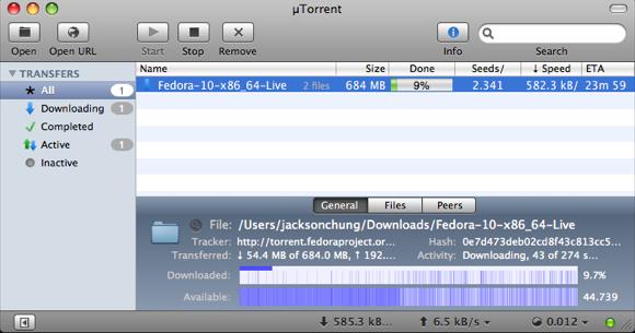 Torrent Info For Mac