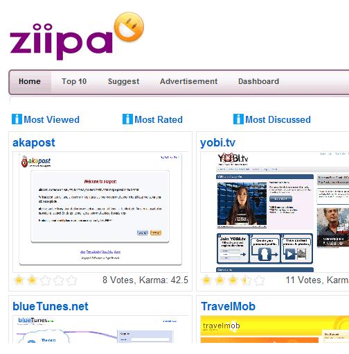 web applications directory