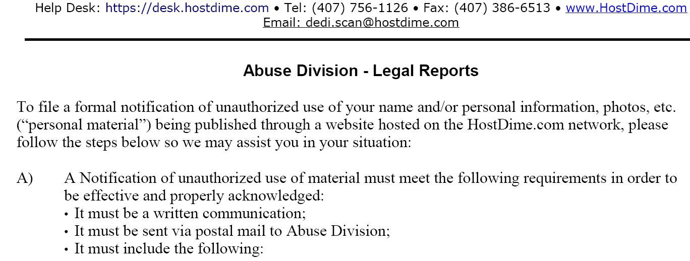 How to Remove False Personal Information on the Internet abuse