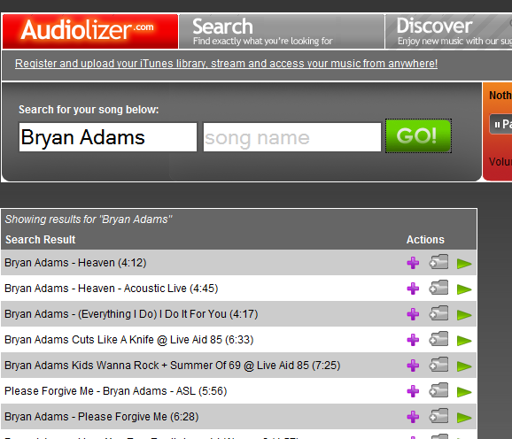 audiolizer   Audiolizer: Listen To Your iTunes Library Over The Internet