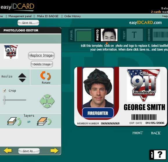 easyidcards1   EasyIdCard: Online ID Card Maker