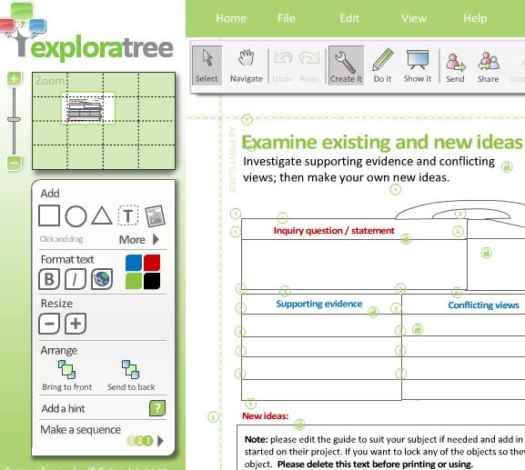 create thinking maps online