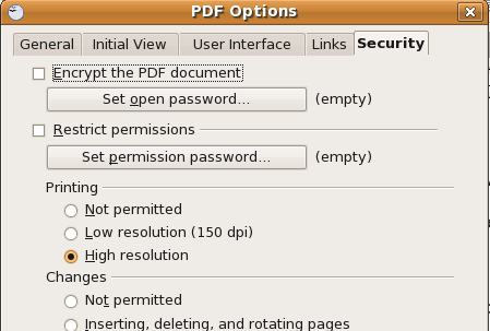 add password to pdf file