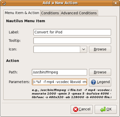 How To Add Custom Functionality To Nautilus [Linux] optionsnact
