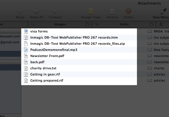 Postbox: An Alternative Email Client For Mac postbox attachment view