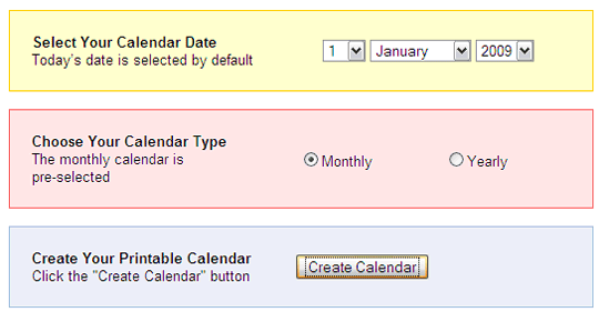 10 Quick Ways To Print Calendars Online