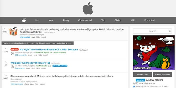 20+ Websites Every Apple Fan Must Bookmark reddit