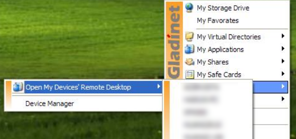 Map Online Service As a Network Drive with Gladinet (Windows) remotedesktopglad