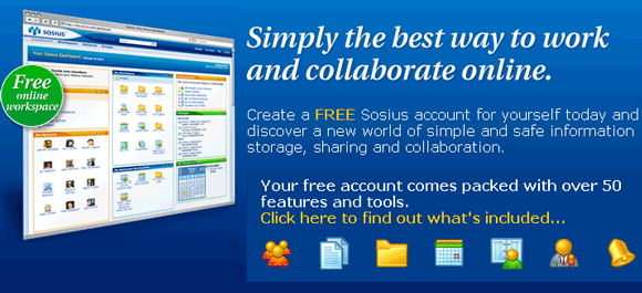 online collaboration site and group workspace