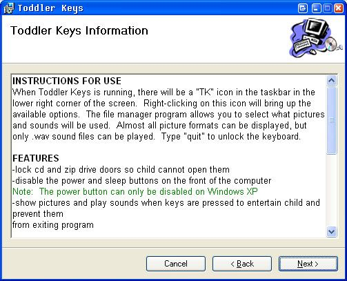ToddlerKeys Makes Your Windows Computer Baby Friendly! toddler2
