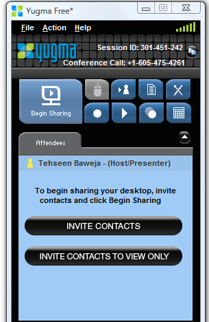 make conference calls