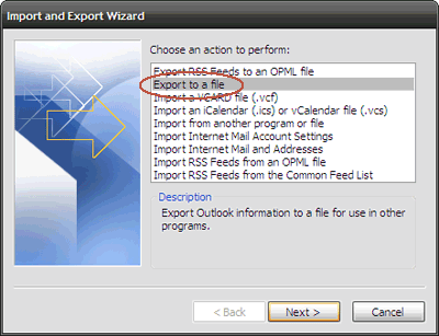 5 Easy Ways To Back Up Your Microsoft Outlook Data 2 export to file