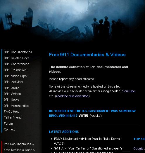 911 documentaries